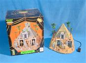 LEMAX SPOOKY TOWN COLLECTION HAUNTED PYRAMID TABLE ACCENT LIGHTED & ANIMATED